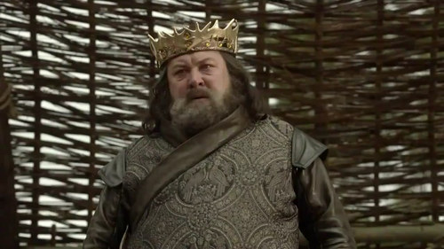 Game of Thrones wallpaper possibly containing a surcoat called Robert Baratheon