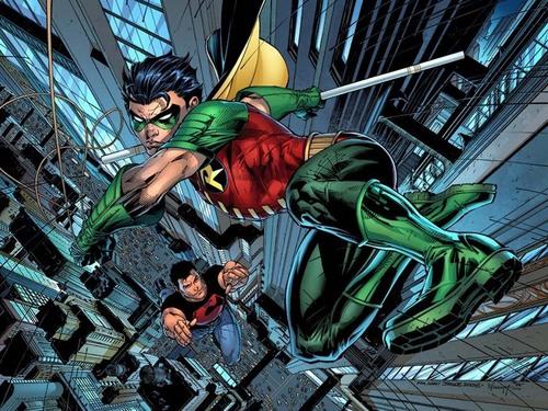 Teen Titans wallpaper called Robin/Superboy