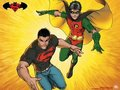 Robin/Superboy - teen-titans fan art