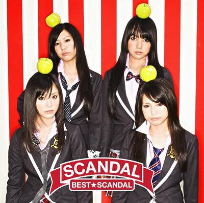 SCANDAL 1st album-Scandal Best
