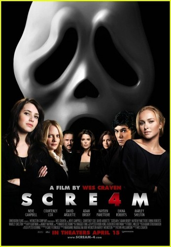 Scream 4 (2011) Posters
