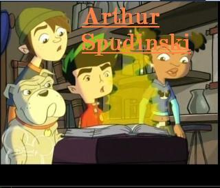 American Dragon; Jake Long: Season 3 achtergrond with anime entitled Season 3 Character Posters-Arthur Spudinski