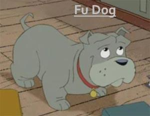 American Dragon; Jake Long: Season 3 achtergrond possibly with anime entitled Season 3 Character Posters-Fu Dog