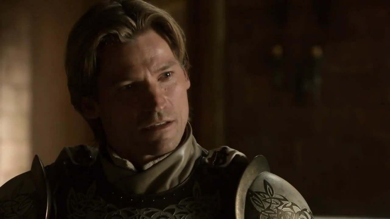 game of thrones jaime lannister vs eddard stark