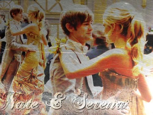 Gossip Girl wallpaper probably containing a sign titled Serena & Nate