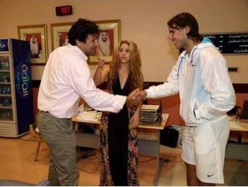শাকিরা and Rafa 2009