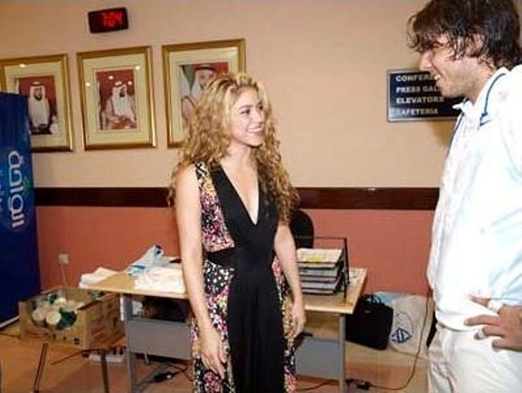 shakira dating nadal Hot cilcks: shakira & rafael nadal: oprah wipes drew brees' scar.