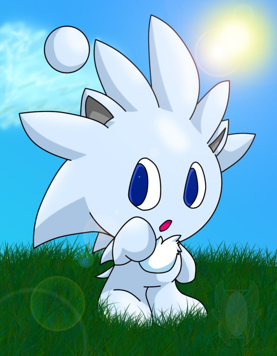 Silver As A Chao Sonic The Hedgehog Photo 18322079