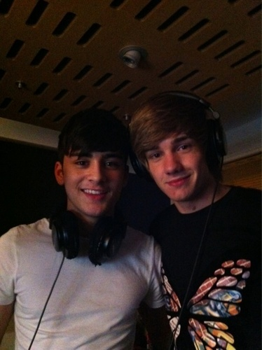 Sizzling Hot Zayn & Goregous Liam Recording 4 Their Album (Liayn Bromance) 100% Real :) x