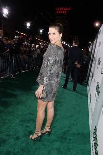 Sophia Bush: 'Green Hornet' Premiere!