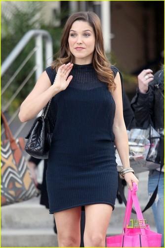 Sophia out in LA