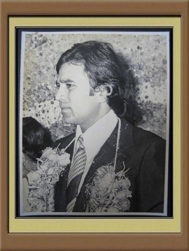 Super étoile, star Rajesh Khanna & Dimple Kapadia wedding on 27.3.1973