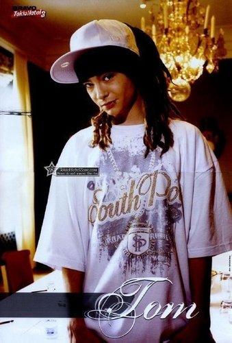 Tom Kaulitz 壁紙 titled Te amo!<3