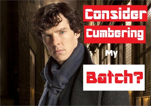 Sherlock on BBC One wallpaper entitled Thats Benedict.