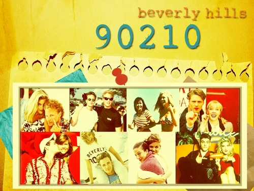 The Cast That Plays Together... - beverly-hills-90210 Wallpaper