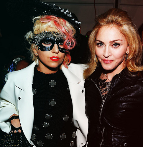 The Godess & The Queen of Pop