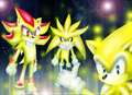 The three Super Hedgehog's - sonic-the-hedgehog photo