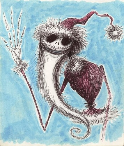 Tim burton kertas dinding called Tim's artwork