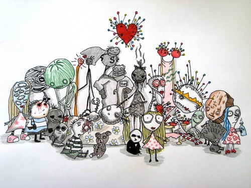Tim's artwork - tim-burton Fan Art