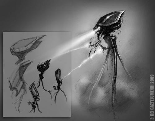 Tripod/ Aliens