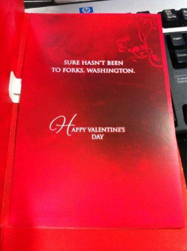 Valentine's siku Card