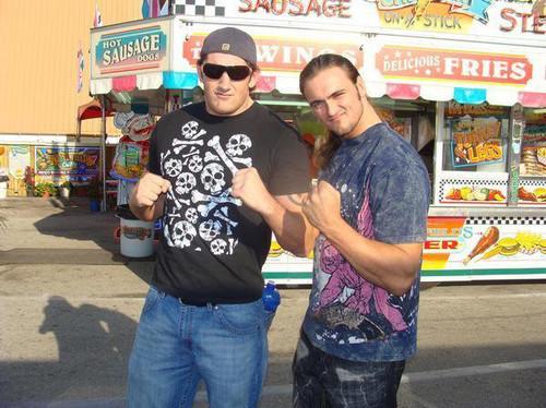 Wade Barrett and Drew McIntyre