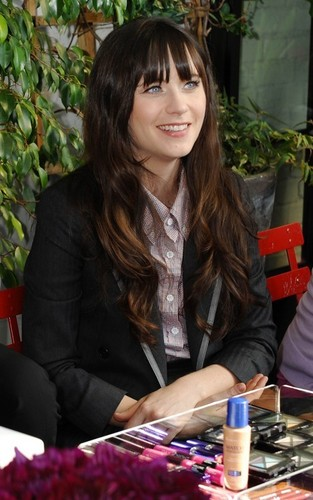 Zooey Deschanel - 2011 Line of Rimmel Cosmetics launch
