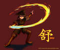 Zuko and Katara's daughter