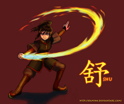 Avatar The Last Airbender kertas dinding titled Zuko and Katara's daughter