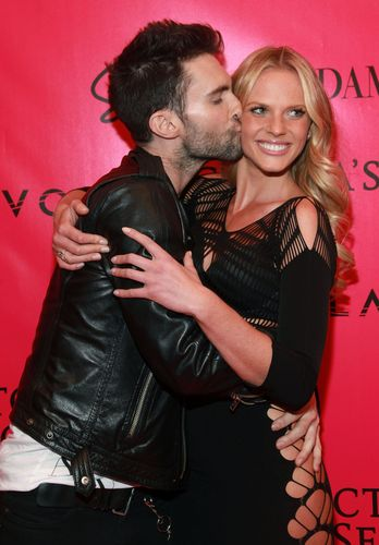 Adam Levine wallpaper probably containing a hip boot called adam and anne v