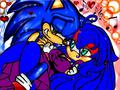 cute sonic and crystal ( again )