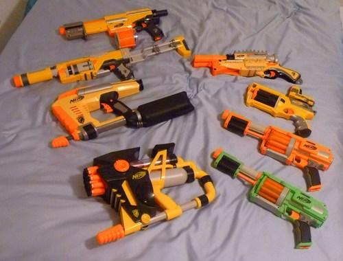 Nerf guns images desiccator 39 s nerf arsenal hd wallpaper - Nerf wallpaper ...