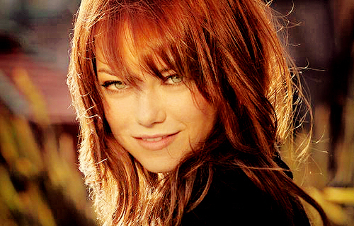 Emma Stone wallpaper possibly containing a portrait titled emma stone