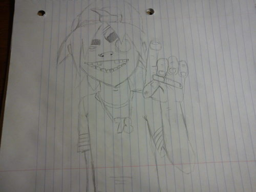 gorillaz drawings - gorillaz Fan Art