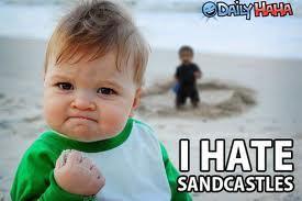 i hat sandcastles
