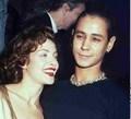 jaye davidson and mili avital stargate premire 1994
