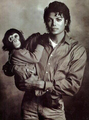 mj and bubbles! - michael-jackson photo