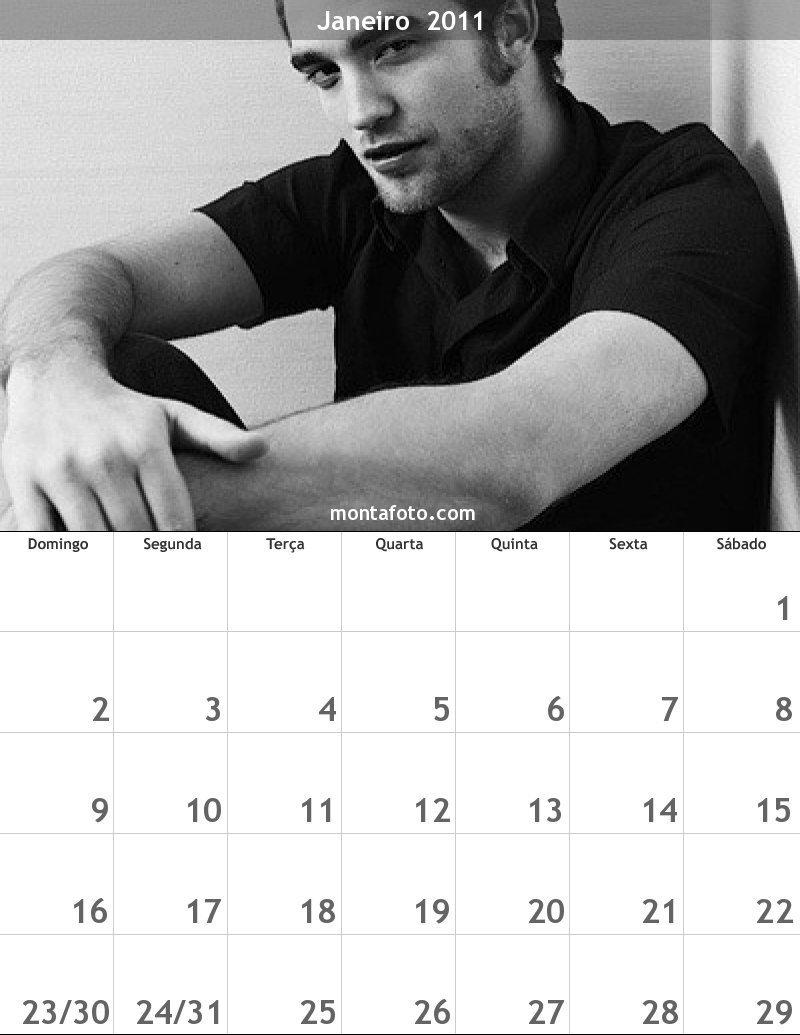 robert calendário