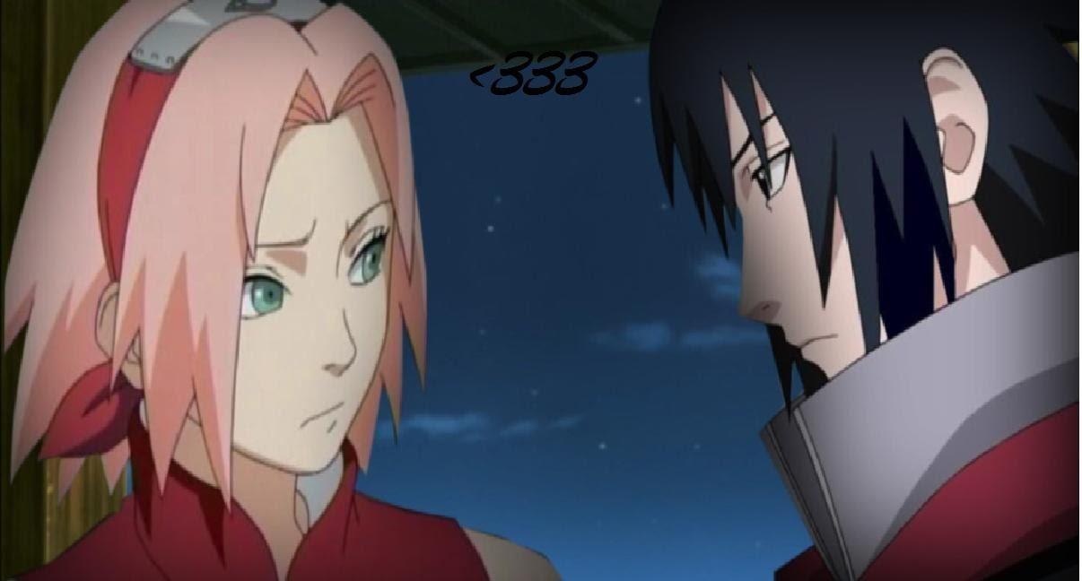 sakura and  sasuke - sasusaku photo