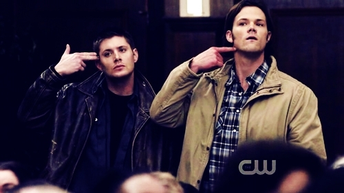 Supernatural wallpaper possibly with a workwear titled sam and Dean