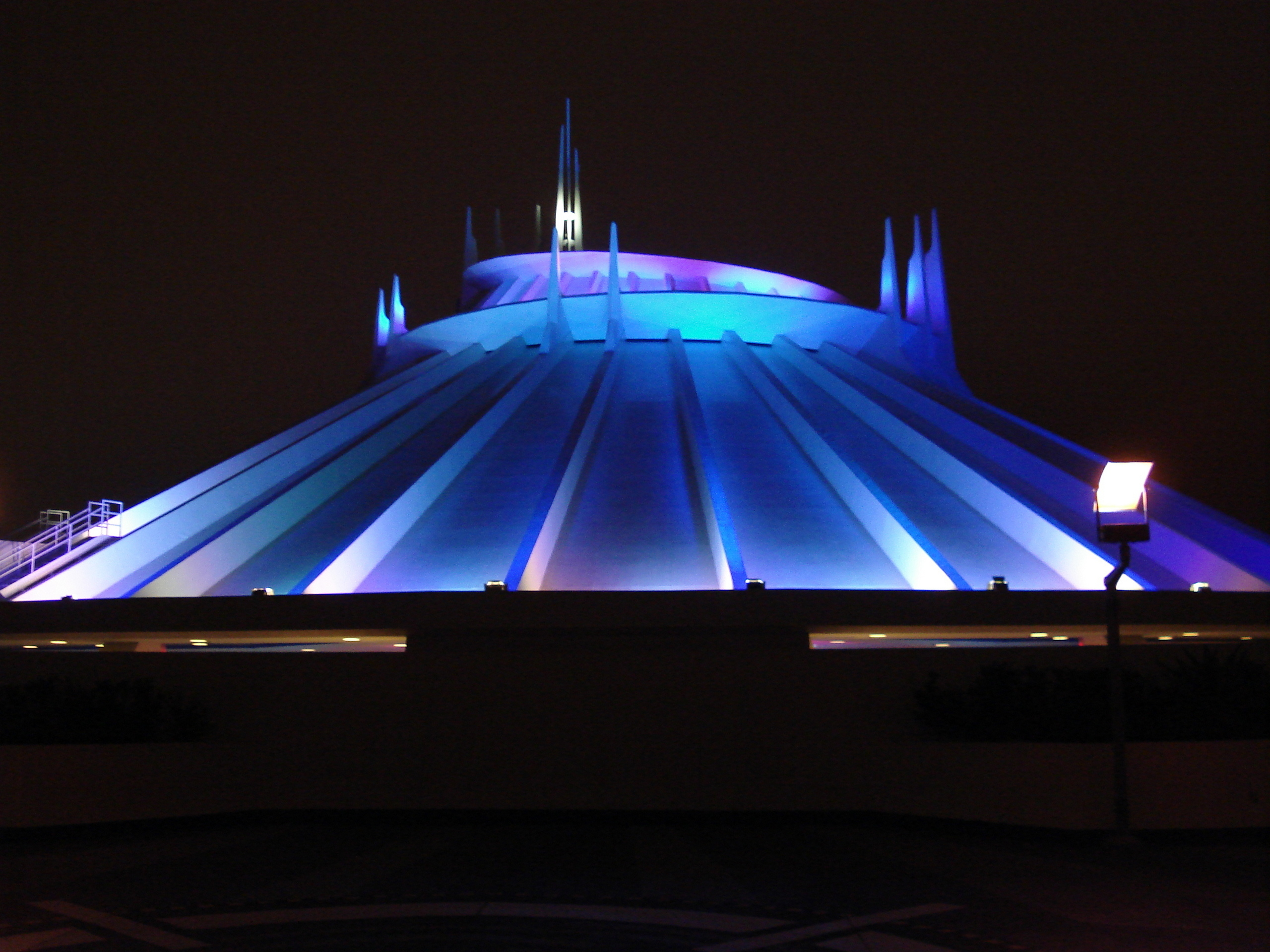 Disney Land Images Space Mountain At Night HD Wallpaper And Background Photos