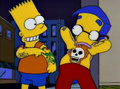 Bart & Milhouse