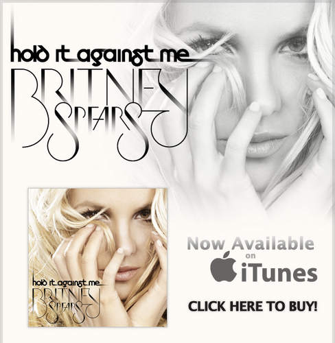 'Hold It Against Me' iTunes Promotion (2011)
