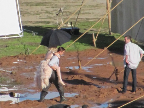 """Water For Elephants"" Reshoots"