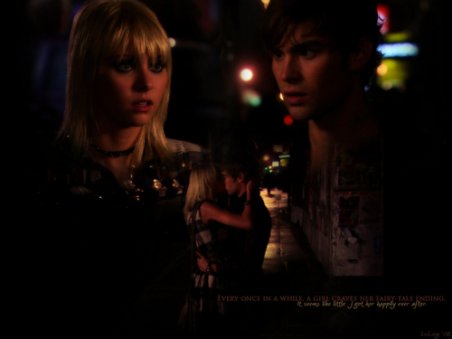 Fairy tale ending - gossip-girl Wallpaper
