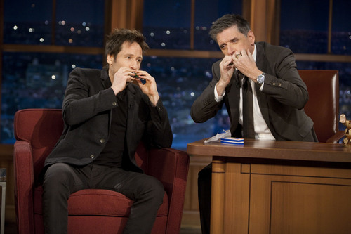 David Duchovny images 12/01/2011 - Craig Ferguson [UHQ] HD wallpaper and background photos
