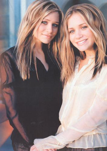 Mary-Kate & Ashley Olsen wallpaper probably with a well dressed person and a portrait entitled 2003-2004 - Primestar Special