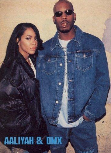 Aaliyah On Set