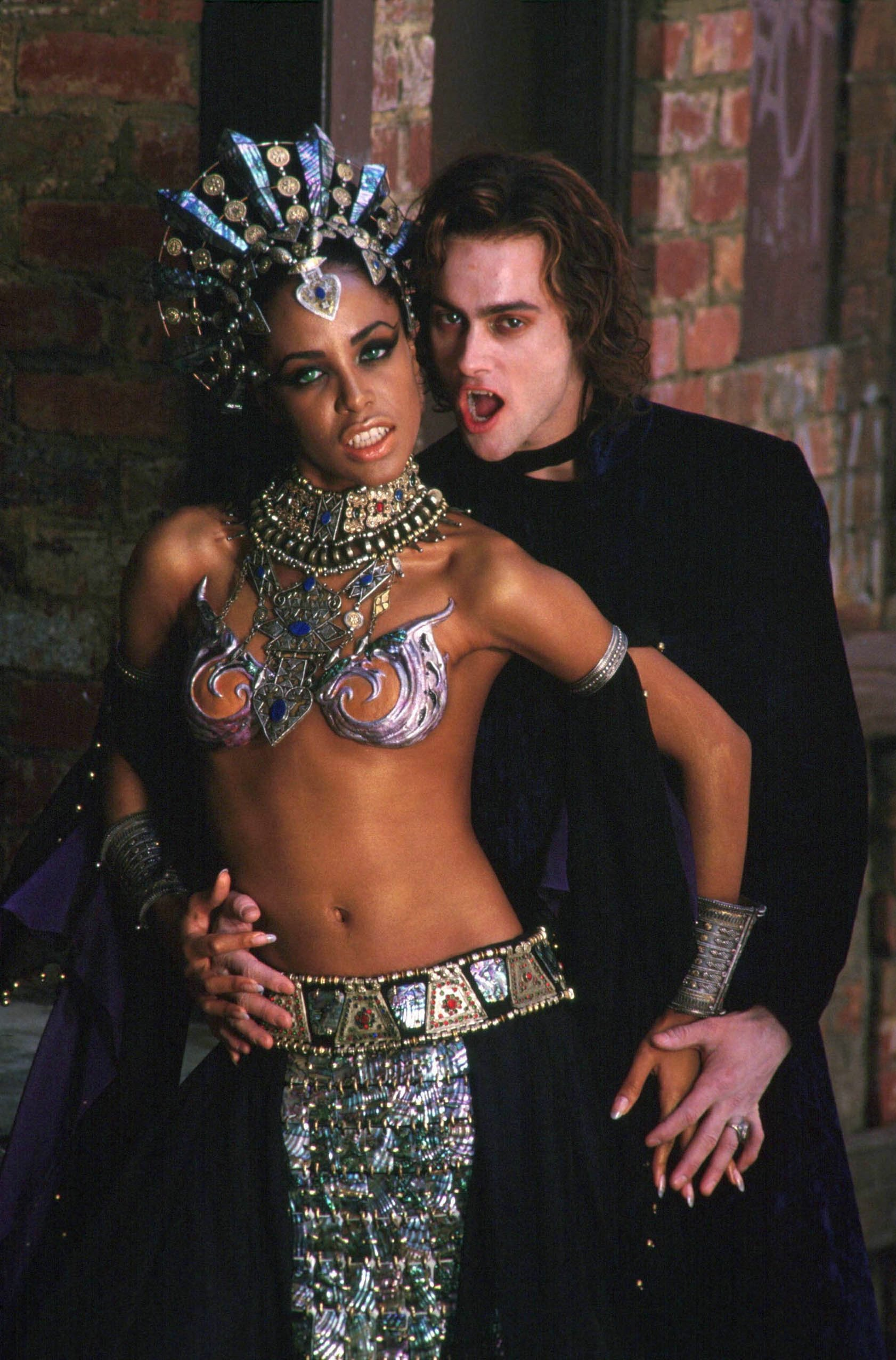 Aaliyah Queen Of The Damned Costume