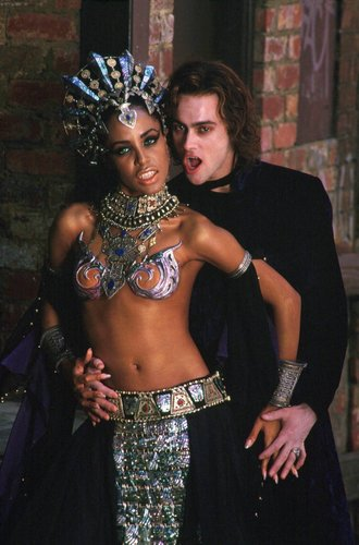 Aaliyah as Akasha - reyna Of The Damned